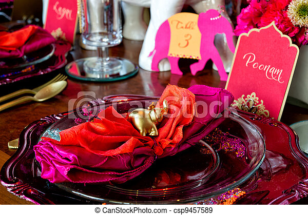 Indian Wedding - csp9457589