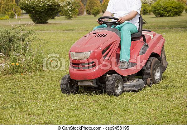 grass cutting - csp9458195