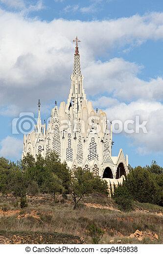 tarragona santuario catalua montserrat montferri famoso jujol arquitecto