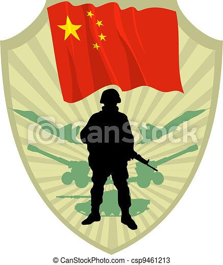 Army of China - csp9461213