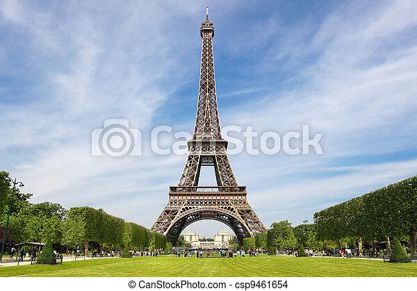 Eiffel Tower - csp9461654