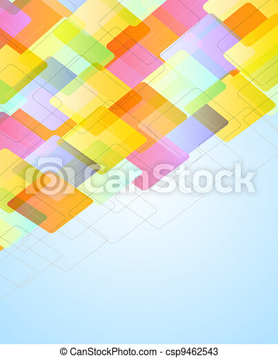 abstract background with bokeh effect - csp9462543