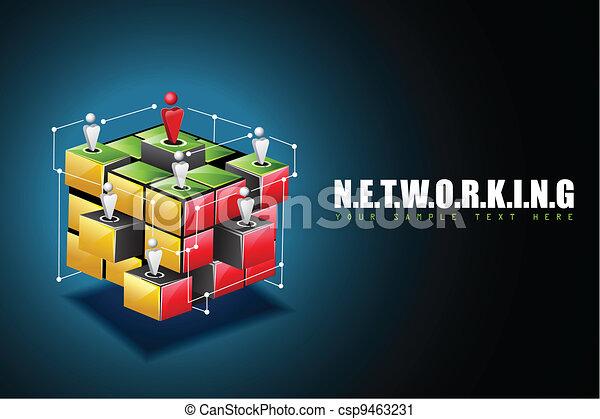 Networking Background - csp9463231