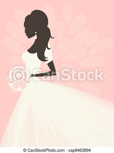 Romantic Bride - csp9463894