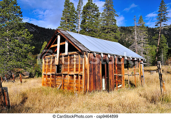 Abandoned Decaying House - csp9464899