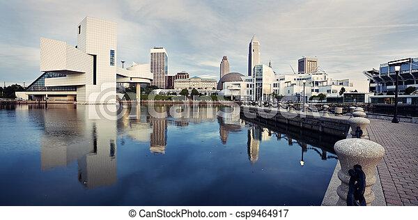 Panorama of Cleveland - csp9464917