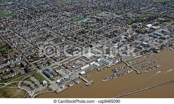 Steveston Port in Richmond, British Columbia - csp9465090