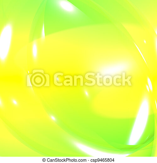 Fresh Yellow And Green Abstract Background Showing Vibrance And Vitality - csp9465804