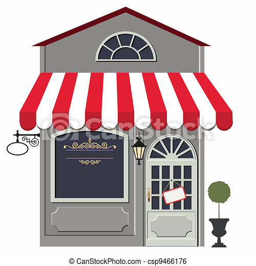 Retro store - csp9466176