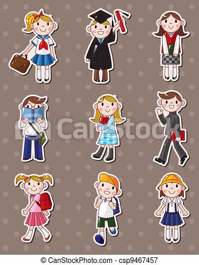 student stickers - csp9467457