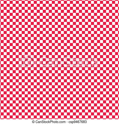 Red vector checkered - csp9467683