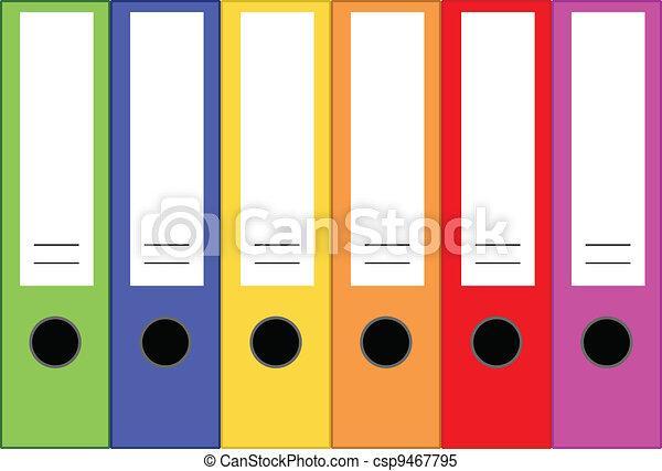 Office Folders - csp9467795