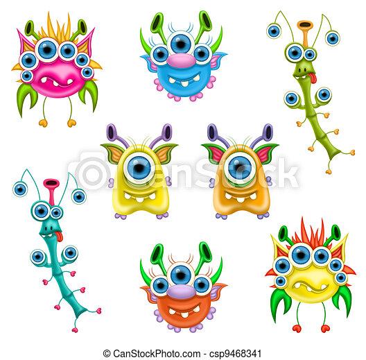 Monsters - csp9468341