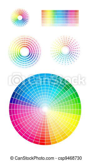 Color wheel - csp9468730