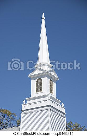 Church steeple - csp9469514