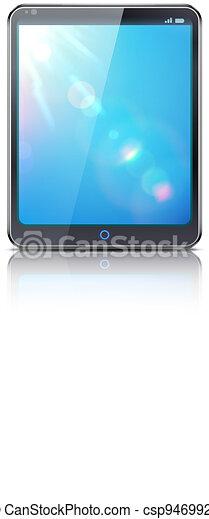 classy tablet PC - csp9469921