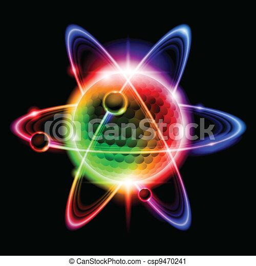 Green atom electron - csp9470241