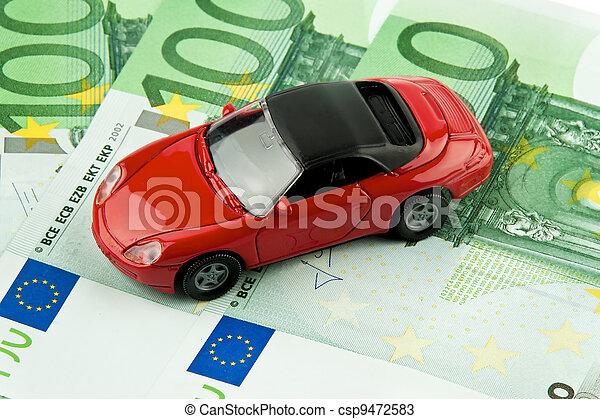car € bills. car costs, financing, l - csp9472583