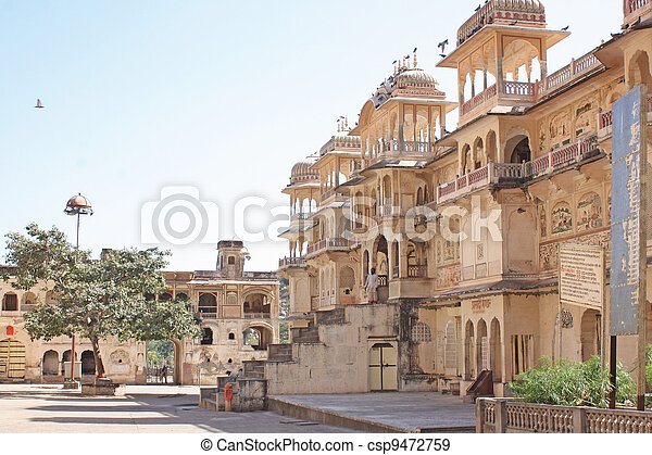 India, Rajasthan, Jaipur, one of th - csp9472759
