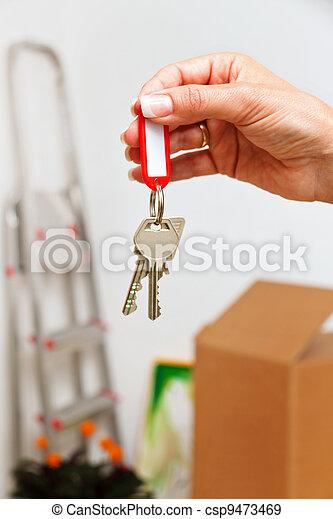 key of a dwelling - csp9473469