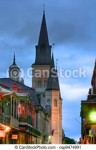 French Quarter - csp9474991