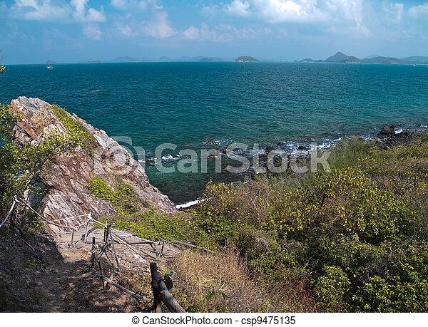 Trail to Ko Kham island Cape - csp9475135