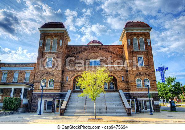 16th St Baptist Church - csp9475634