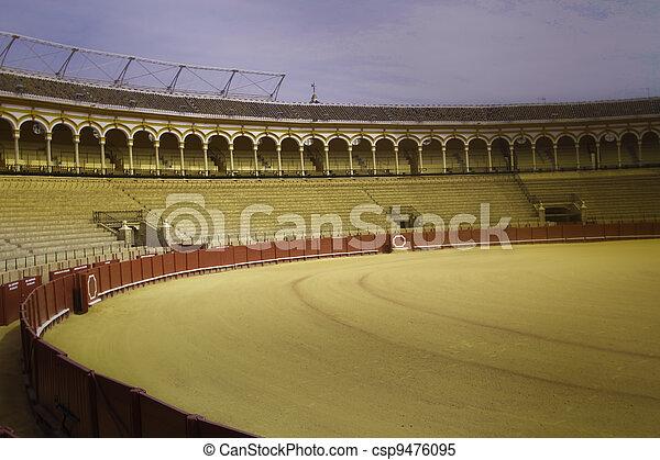 Bullfighting Ring - csp9476095