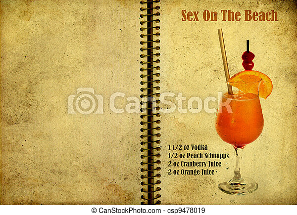 Sex on the beach recipe - csp9478019