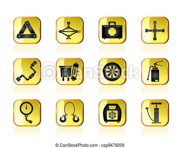 car and transportation icons - csp9479209