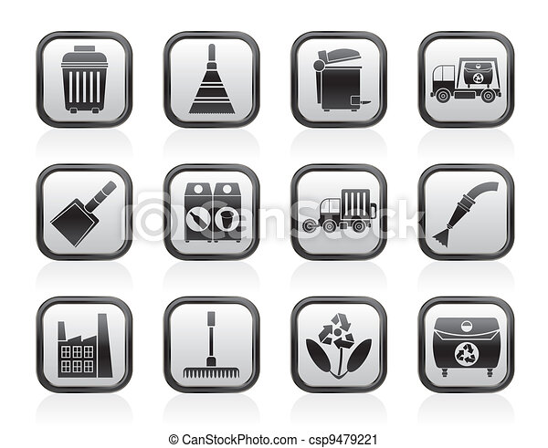 Cleaning Industry icons - csp9479221