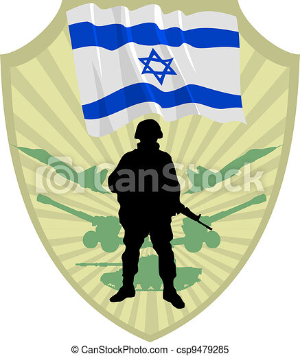 Army of Israel - csp9479285