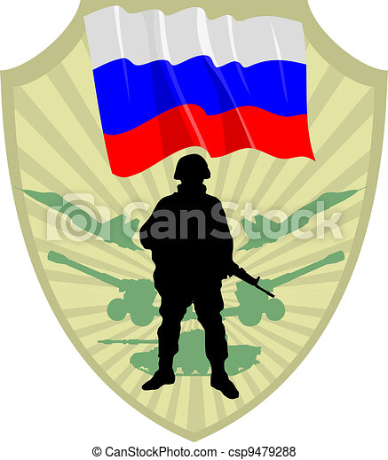 Army of Russia - csp9479288
