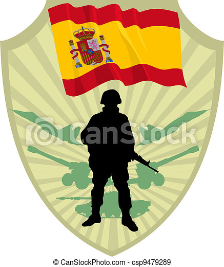 Army of Spain - csp9479289