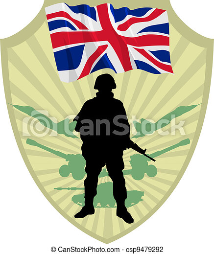 Army of United Kingdom - csp9479292