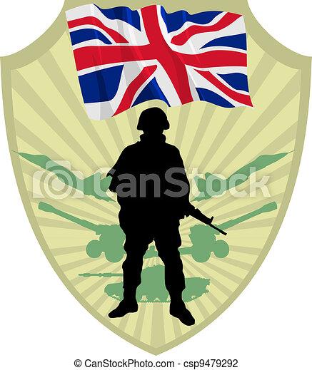 Army of United Kingdom - csp9479292