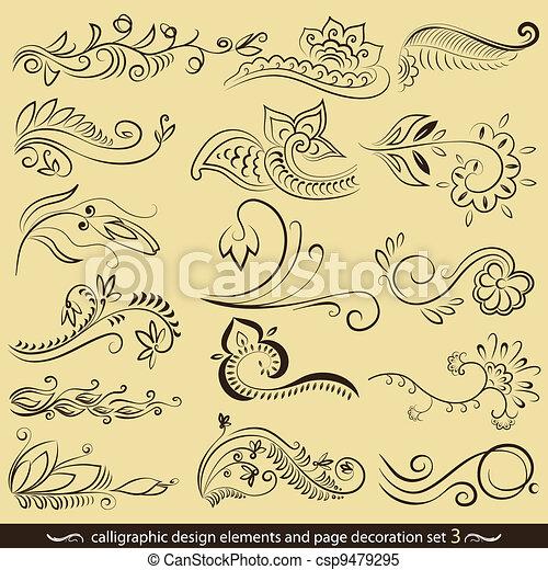 calligraphy-03 - csp9479295