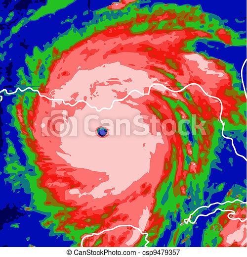 Hurricane Line Drawing Vector Hurricane