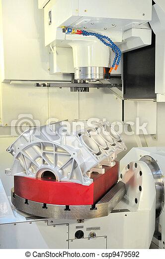 CNC-milling - csp9479592
