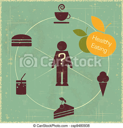 healthy food concept - csp9480938