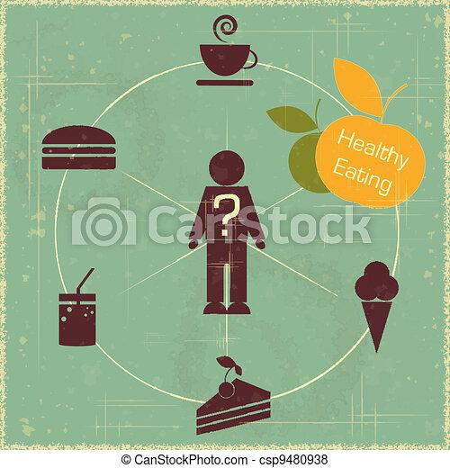 healthy food concept - csp9480938