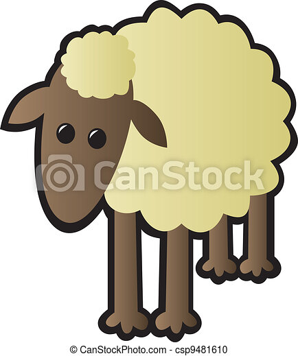 Single Sheep - csp9481610