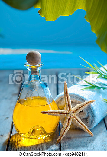 Marine spa treatment and wellness - csp9482111