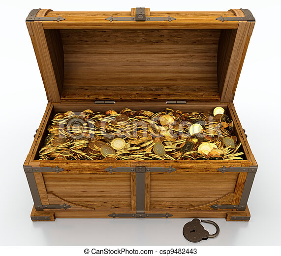Treasure chest - csp9482443