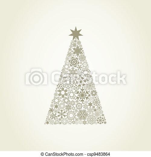 Celebratory tree7 - csp9483864
