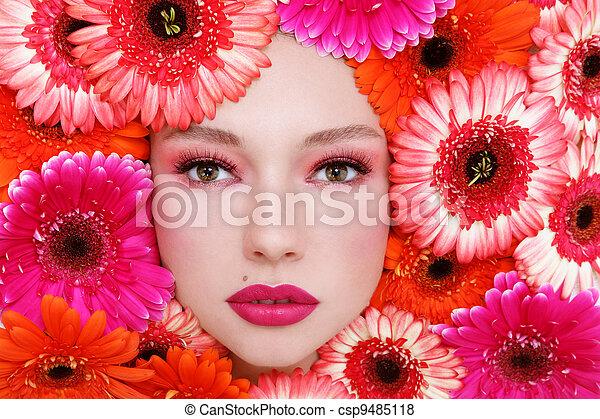 Beauty in flowers - csp9485118
