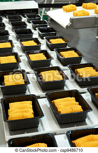 Industrial food production - csp9486710