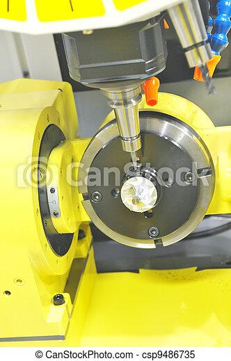 Lathe, CNC milling - csp9486735