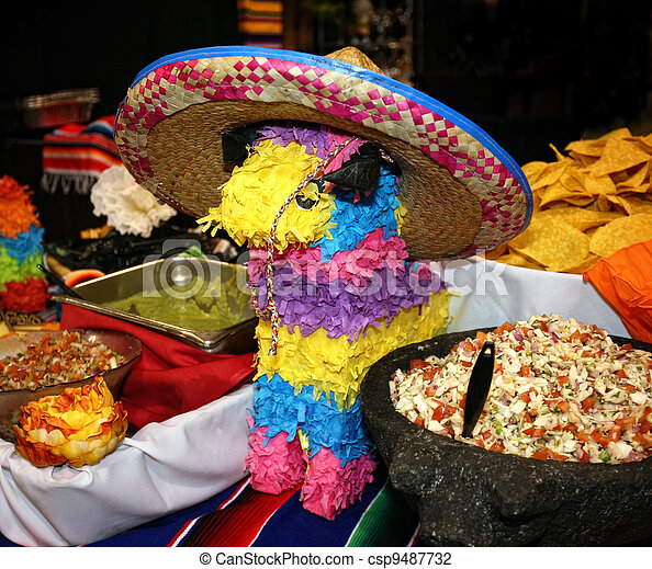 Mexican cuisine  - csp9487732