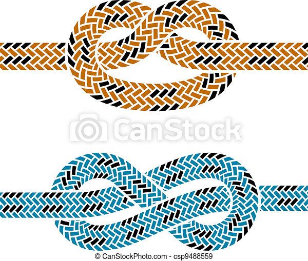 Rope Logo Vector Vector Vector Climbing Rope